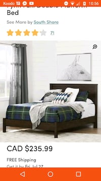 Double Bed Frame Minto, N0G 1Z0