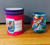 Hand Painted Lolita Mermaid Stemless Wine Glass