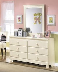 Cottage Retreat Cream Dresser | B213 Houston, 77019