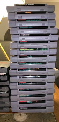 Super Nintendo Cartridges Oakton, 22124