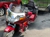 Red and Chrome Honda Goldwing  Camp Hill, 17011
