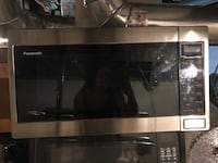 Panasonic Stainless Steel Microwave Blackwood, 08012