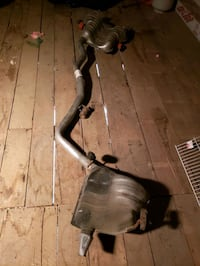2014 Jeep Gand Cherokee exhaust system