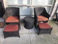 Patio furniture excellent condition  Reston, 20191