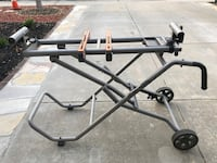 Mobile Miter Saw Stand  Hayward, 94545