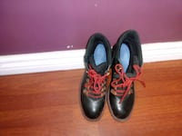 pair 8.5 of black leather shoes like new Edmonton, T5A 4N4