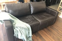 Leather sofa bed  Surrey, V3T 0H2