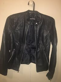 Express leather jacket / Size Small , 10460