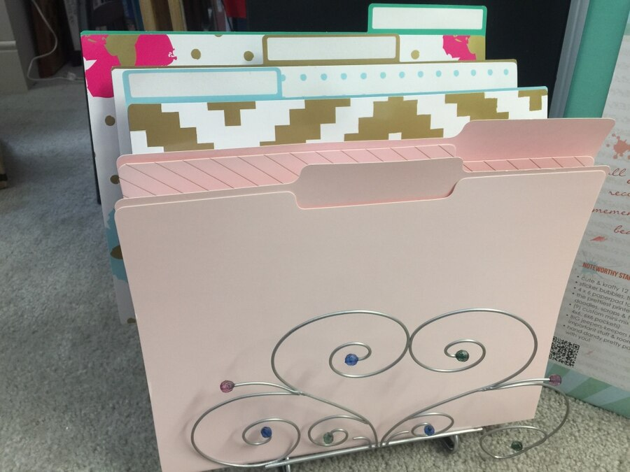 Trendy office and scrapbook supplies - $30