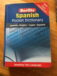 Berlitz Spanish pocket dictionary Londonderry, 03053