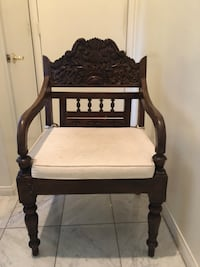 Chair - Carved Indonesian  Los Angeles, 90065
