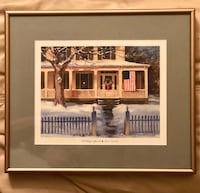 "Print by Paul Landry ""Holiday Spirit"" Arlington, 22204"