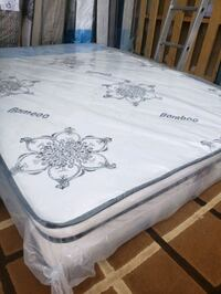 New Queen mattress +box 375. Delivery for 30 to 50 Edmonton, T6L 2C9
