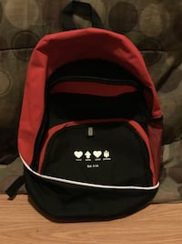red and black backpack Memphis, 38104