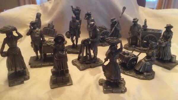 Ron Hinote Pewter Figurines