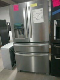 New scratch and dent whirlpool 4 doors fridge with Baltimore, 21223