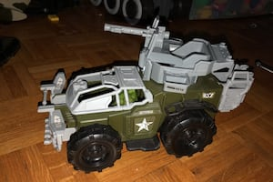 Toy army car