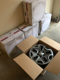 Set of 5 Jeep Wheels (Sold as Set)
