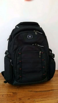 Ogio Brand oblack and gray Swiss backpack Reston, 20194