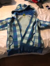 Diadora blue checker sweater size M - gently used