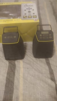 2 Ryobi speakers Bluetooth battery or plug in. Never used. Vaughan, L6A