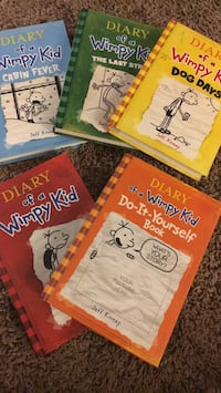 Diary of a wimpy kid book  Spruce Grove, T7X