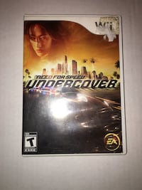 Wii games - Need for Speed: Undercover