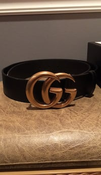Black/Gold  Gucci Belt Woodbridge, 22192