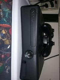 black XBOX 360 with game controller College Park, 20740