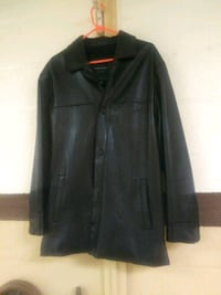Black Soft Leather Jacket (M)  Norfolk, 23503