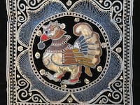 Mythical Bird Embroidered Tapestry (new) St. Louis, 63108