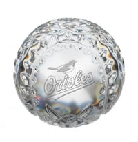 WATERFORD CRYSTAL ORIOLES BASEBALL