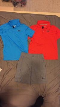 two blue and red polo shirts 洛克維爾, 20852