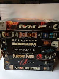 7 VHS Tapes $7 Each Smithsburg, 21720