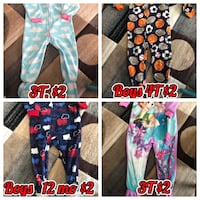 Boy's and Girls Pajamas Woodbridge, 22192