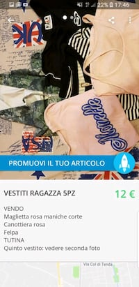 vestiti assortiti da donna 6802 km