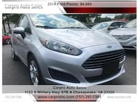 Ford - Fiesta - 2014 Chesapeake