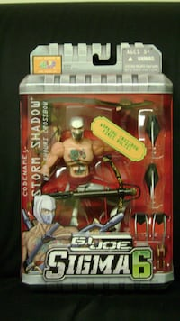 G.I. Joe Sigma 6 - Storm Shadow  Crossbow Richmond