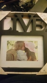 Live laugh love picture frames