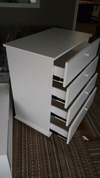 white wooden 3-drawer chest London, N6A 2T3