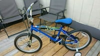 blue and black BMX bike ( Boy) Mississauga, L5N 3J6
