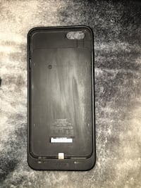 black Mophie juice pack for iPhone case