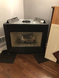 Gas fireplace. Working order. Heat n glo Oakville, L6J