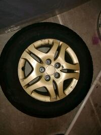 gray 5-spoke vehicle wheel and tire Ashburn, 20148