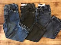 Lot of 4t Levi's jeans Georgetown, 47122