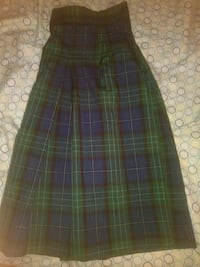 blue, green, and black plaid skirt Morgan Hill, 95037