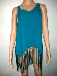 BELLE + SKY blouse for women size M without sleeves.