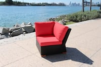 Ellington Corner Unit - Red Miami
