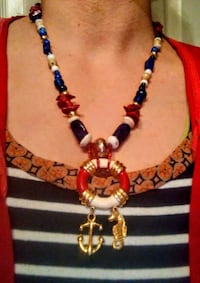 Nautical bliss necklace