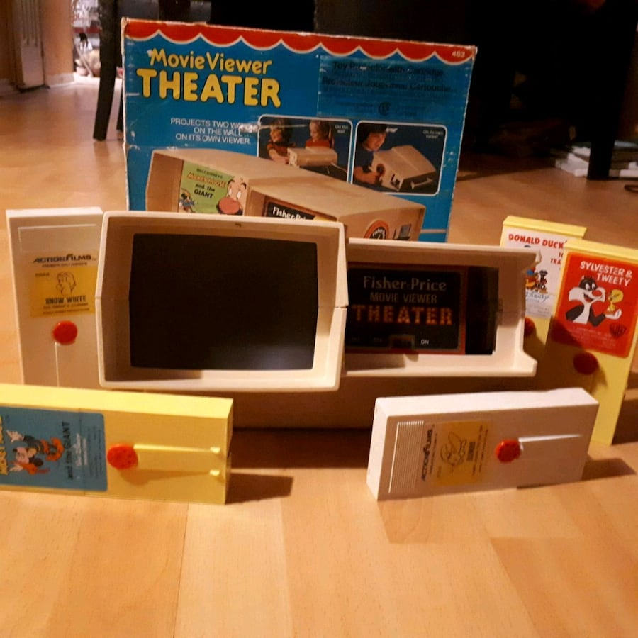 Vintage kids movie theater